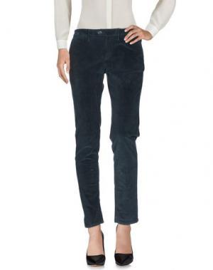 Повседневные брюки OAKS. Цвет: стальной серый