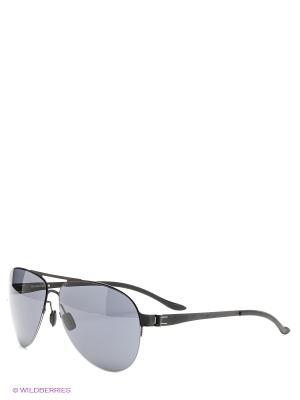 Солнцезащитные очки Mercedes Benz. Цвет: черный, темно-синий
