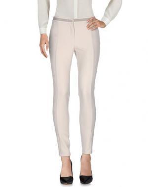 Повседневные брюки CHILI PEPPERS. Цвет: светло-серый