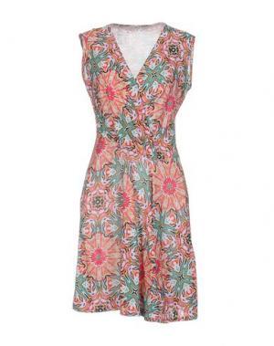 Короткое платье GIORGIA & JOHNS. Цвет: пурпурный