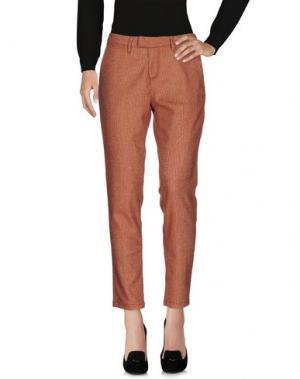 Повседневные брюки HAIKURE. Цвет: ржаво-коричневый