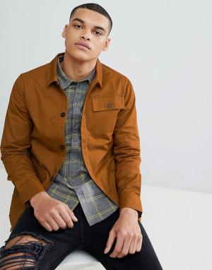 Another Influence Пальто табачного цвета. Цвет: коричневый