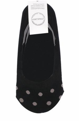 Хлопковые носки с принтом Antipast. Цвет: черный