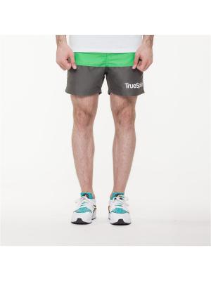 Шорты TRUESPIN Core Shorts True Spin. Цвет: зеленый