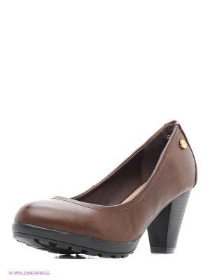 Туфли XTI. Цвет: коричневый