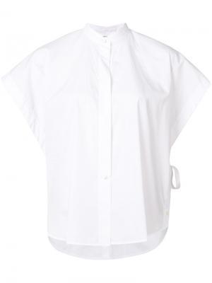 Wide sleeve blouse Helmut Lang. Цвет: белый