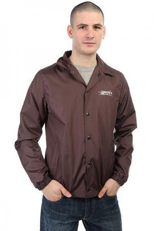 Ветровка  Coachjacket Brown Anteater. Цвет: коричневый