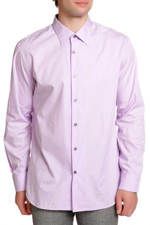 Рубашка Paul Smith. Цвет: сиреневый