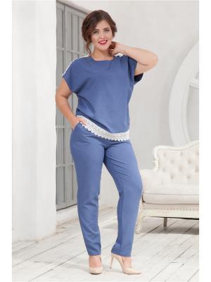 Комплект одежды CLEO. Цвет: голубой