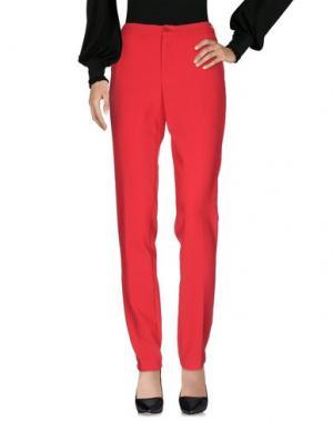 Повседневные брюки XANDRES. Цвет: коралловый