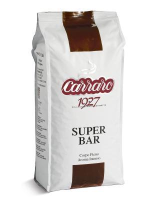 Super Bar 1 кг  кофе в зернах CARRARO. Цвет: коричневый