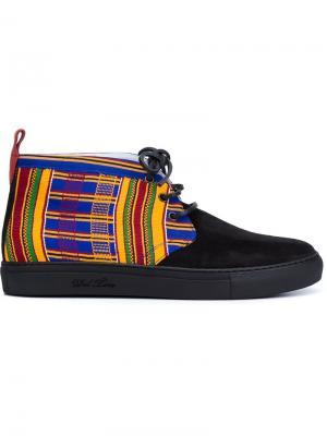 Chukka hi-top sneakers Del Toro Shoes. Цвет: чёрный