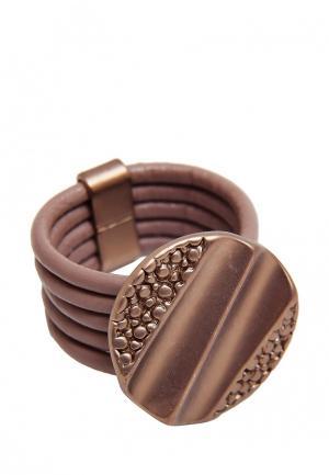 Кольцо Kameo-Bis. Цвет: коричневый