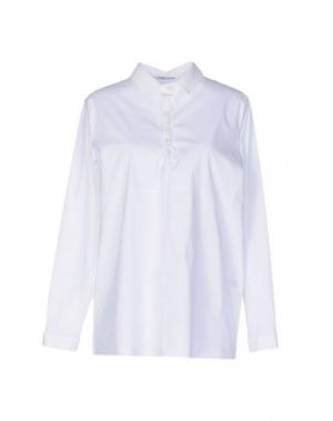 Pубашка LAMBERTO LOSANI. Цвет: белый