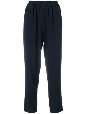 Укороченные брюки Gianluca Capannolo. Цвет: синий