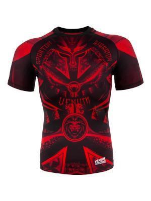 Рашгард Venum Gladiator Black/Red S/S. Цвет: черный, красный