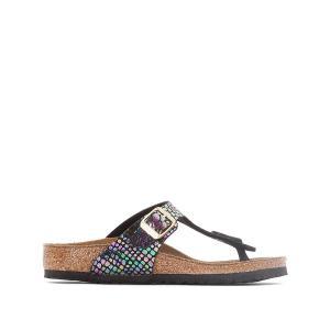 Туфли без задника Gizeh BIRKENSTOCK. Цвет: рисунок разноцветный