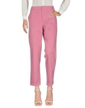 Повседневные брюки GUCCI. Цвет: пастельно-розовый