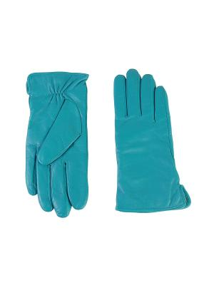 Перчатки Sabellino. Цвет: бирюзовый