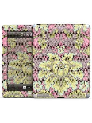Наклейка для iPad 2,3,4 Damask Dot-Tula Pink Gelaskins. Цвет: белый, зеленый