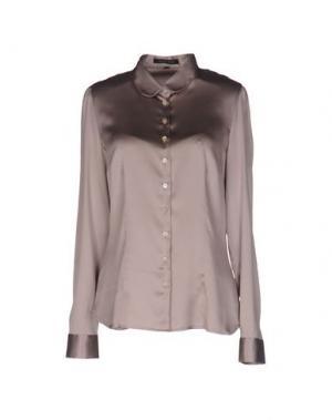 Pубашка WALTER VOULAZ. Цвет: голубиный серый