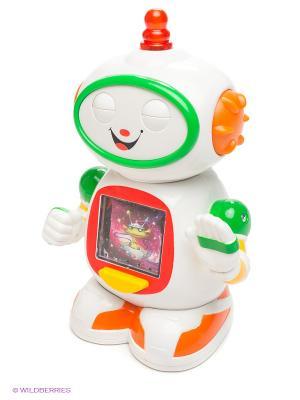 Развивающая игрушка Приятель робот Kiddieland. Цвет: белый, зеленый, красный