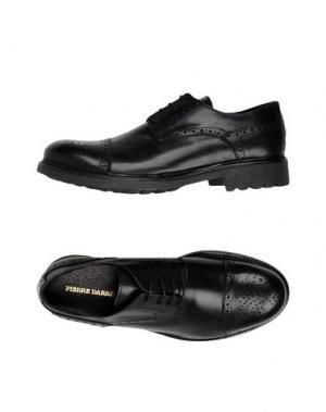 Обувь на шнурках PIERRE DARRÉ. Цвет: черный