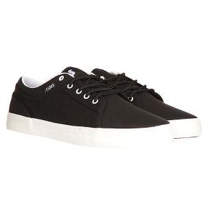 Кеды кроссовки низкие  Aversa Black/Black White DVS. Цвет: черный