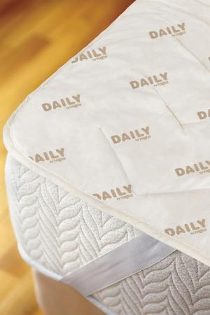 Наматрасник из шерсти 180х200 Daily by T. Цвет: экрю