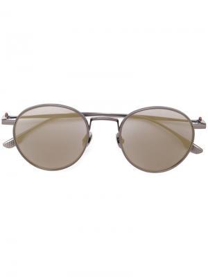 Солнцезащитные очки Liber Kiton. Цвет: серый
