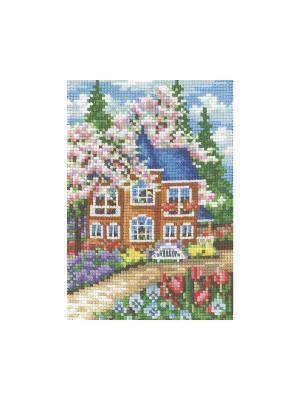 Набор для творчества Времена года.Весна Сделай своими руками. Цвет: розовый, голубой, коричневый