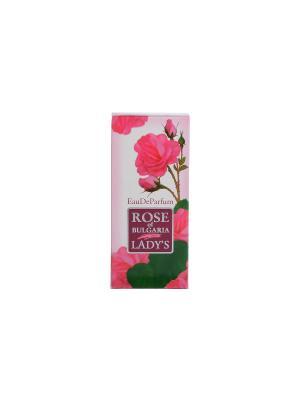 Духи женские Rose of Bulgaria 25 мл. Biofresh. Цвет: бледно-розовый