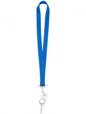 Брелок на шнурке Obsedia Givenchy. Цвет: синий