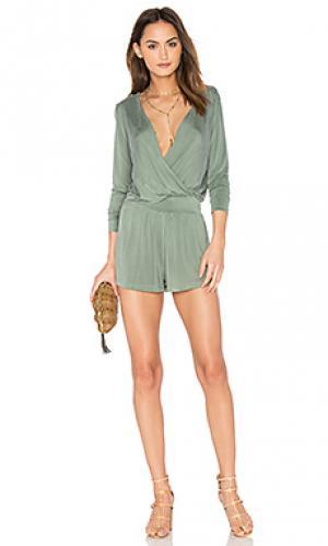 Ромпер blair YFB CLOTHING. Цвет: зеленый