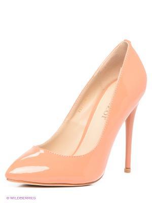 Туфли Winzor. Цвет: персиковый