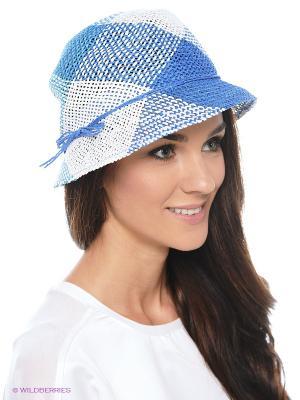 Шляпа SEEBERGER. Цвет: голубой