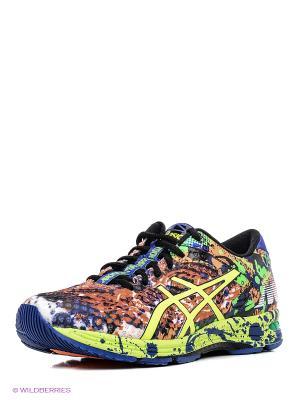 Спортивная обувь GEL-NOOSA TRI 11 ASICS. Цвет: оранжевый, желтый, синий