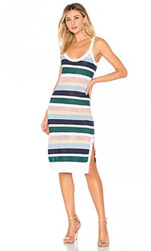 Платье Suboo. Цвет: зеленый