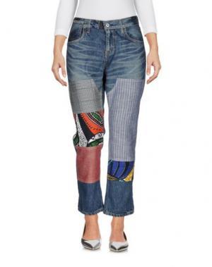 Джинсовые брюки JUNYA WATANABE COMME des GARÇONS. Цвет: синий