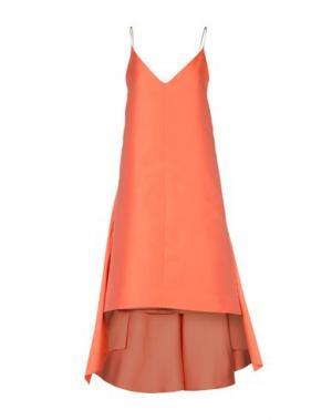 Короткое платье MARIA LUCIA HOHAN. Цвет: оранжевый