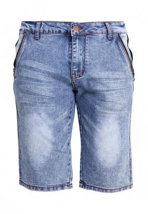 Шорты джинсовые Nord Star. Цвет: голубой