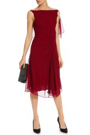 Платье Nina Ricci. Цвет: бордовый