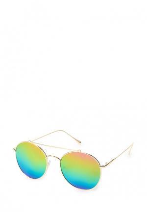 Очки солнцезащитные Kameo-Bis. Цвет: бежевый