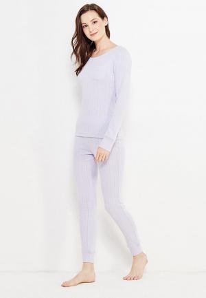 Пижама OVS. Цвет: фиолетовый