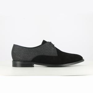 Ботинки-дерби кожаные Daido, эксклюзивная модель La Redoute JONAK. Цвет: черный