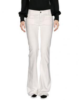 Повседневные брюки THE SEAFARER. Цвет: белый