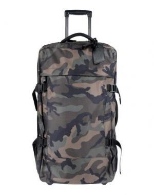 Чемодан/сумка на колесиках VALENTINO GARAVANI. Цвет: стальной серый
