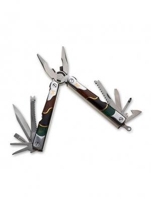 Нож многофункциональный Stinger. Цвет: серебристый