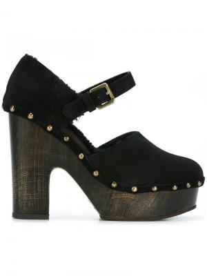 Туфли на платформе с пряжками LAutre Chose L'Autre. Цвет: чёрный