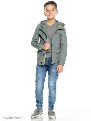 Куртка Tommy Hilfiger. Цвет: зеленый